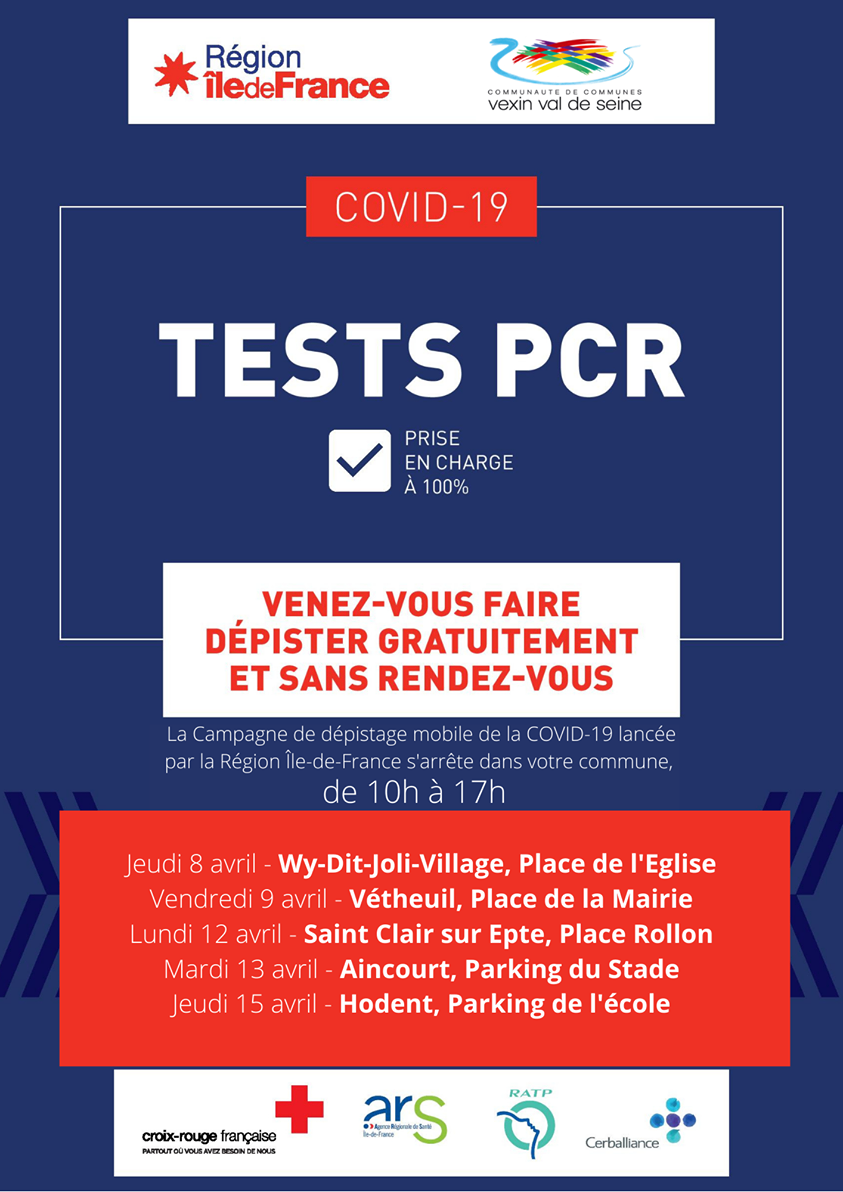 affiche test covid